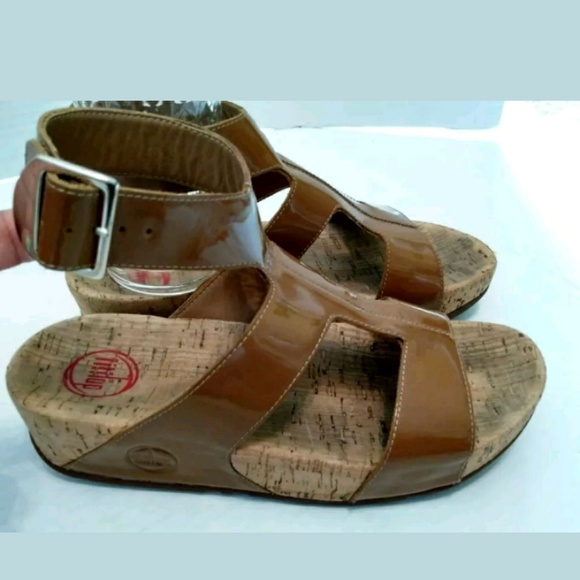 a6e07bed4 Fitflop Shoes - Fitflop Arena Womens Sandals US 7 EUR 38 Tan Brown